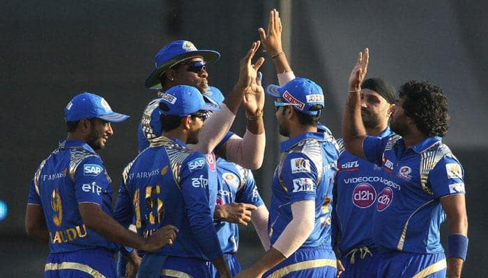 IPL 2015: MI stay in hunt for play-offs beating KXIP by 23 runs