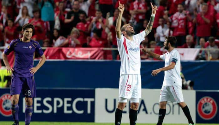 Europa League: Sevilla on brink of final after Aleix Vidal double