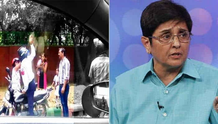 Brick-yielding Delhi Traffic Police constable should be given compulsory retirement: Kiran Bedi