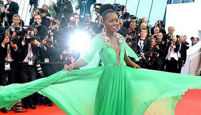 Lupita Nyong'o dazzles Cannes red carpet with Uganda inspired look