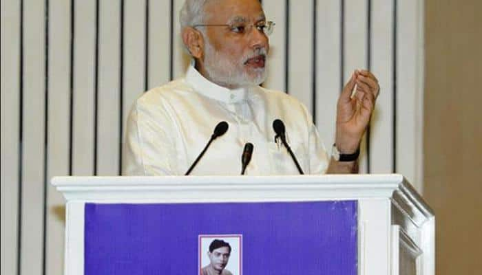 PM Narendra Modi asks Biharis to shed casteism, says committed to Bihar's development