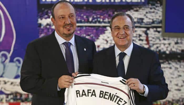 Rafael Benitez needs to win titles at Real Madrid, says Zinedine Zidane