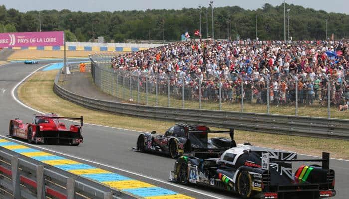 Le Mans 24 Hours race under way
