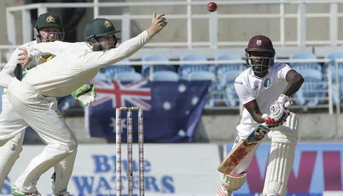 West Indies 220 all out, trail Aussies by 179