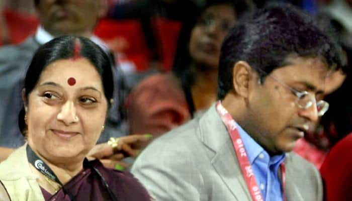 Travel documents row: Helped Lalit Modi on 'humanitarian grounds', says Sushma Swaraj; BJP backs her