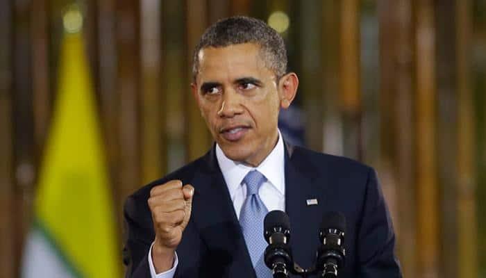Obama blames gun lobby ''grip'' on Congress for lax US gun laws