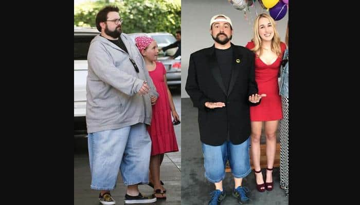 Kevin Smith debuts thinner self on Twitter