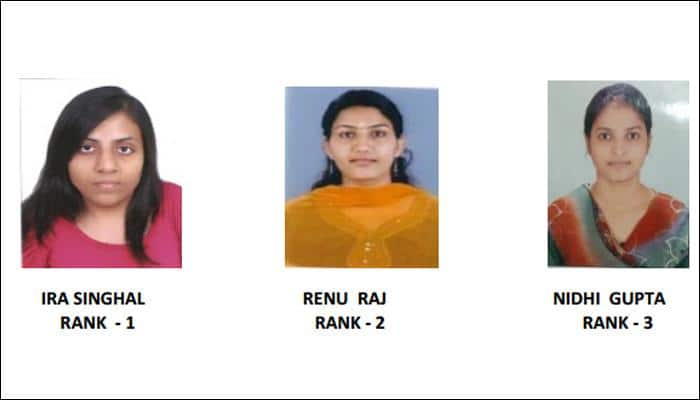 UPSC Results 2014: Meet top three toppers