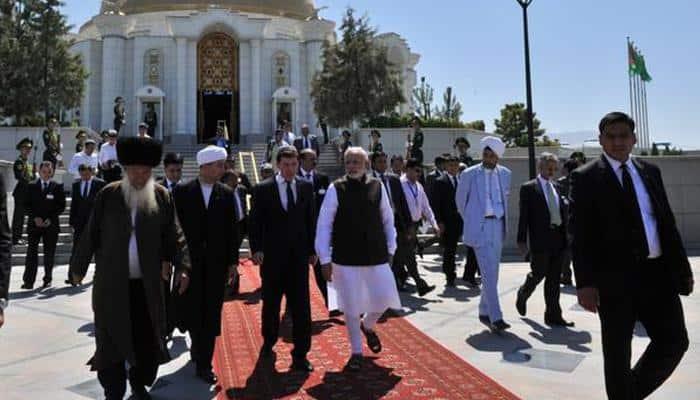 Terror, climate change biggest problems for world: PM Modi in Turkmenistan