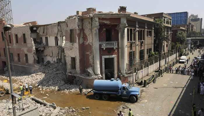 Islamic State claims attack on Italian consulate in Egypt's Cairo