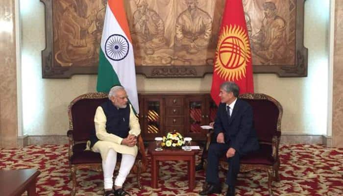 India, Kyrgyzstan strengthen defence ties: As it happened