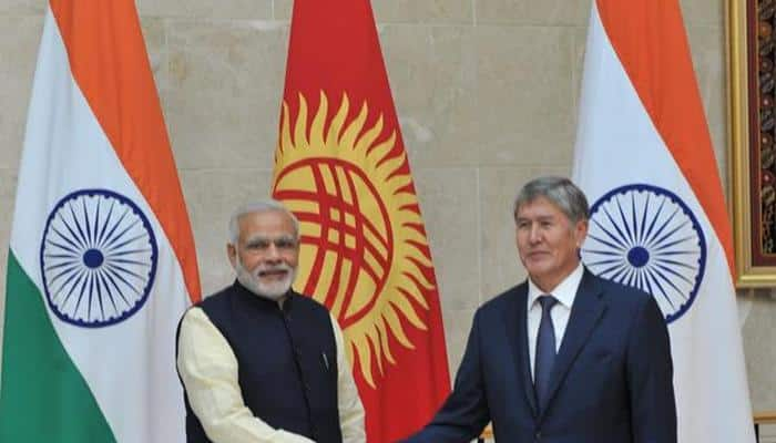 Kyrgyzstan a key part in India's Central Asia vision: PM Modi