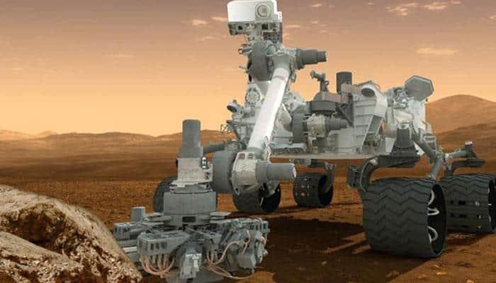 Curiosity Mars rover clicks rare sunspots