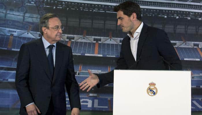 Real Madrid chief denies Iker Casillas was pushed out
