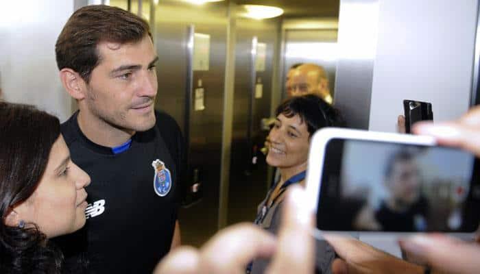 Iker Casillas says he chose Porto because of coach Julen Lopetegui