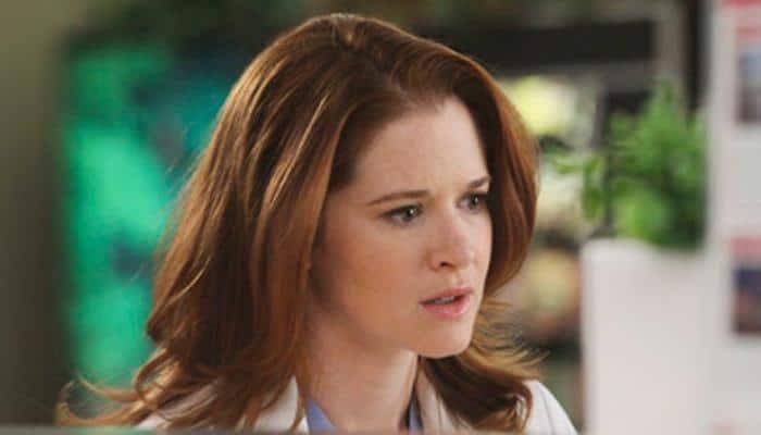 Sarah Drew won't leave 'Grey's Anatomy'
