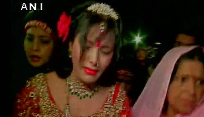 Radhe Maa breaks down before media, says 'God will do justice to me'