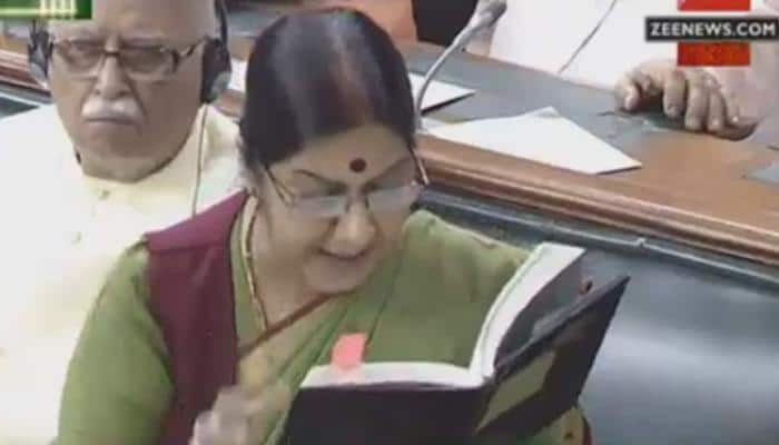 Lalitgate: Fierce counter-attack by Sushma Swaraj rattles Congress; govt says EAM won't resign