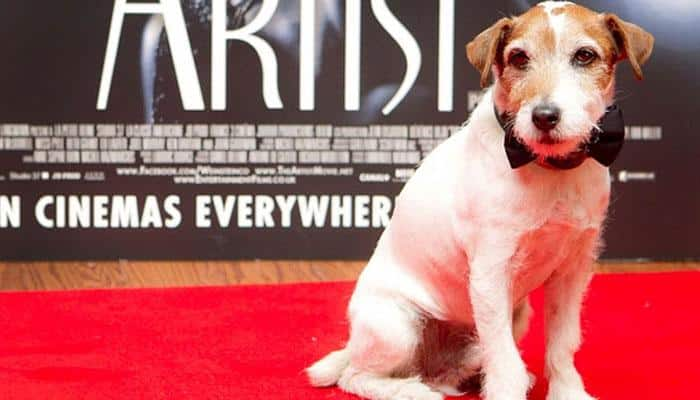 Jean Dujardin, Reese Witherspoon pay tribute to Uggie the dog
