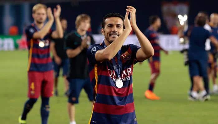 Barca coach Luis Enrique wants Pedro situation resolved