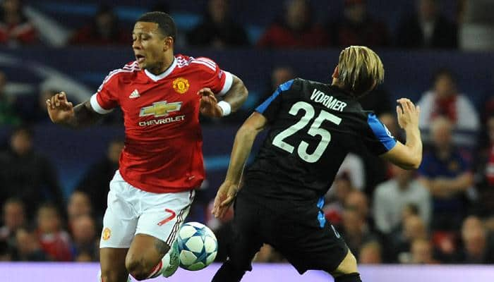 Memphis Depay rues missing hat-trick in United's 3-1 win against Brugge