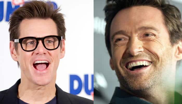 Watch: Hugh Jackman's awesome dubsmash challenge to Jim Carrey!