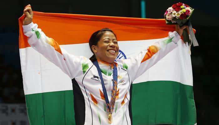 Determined to win gold at Rio Olympics: Mary Kom