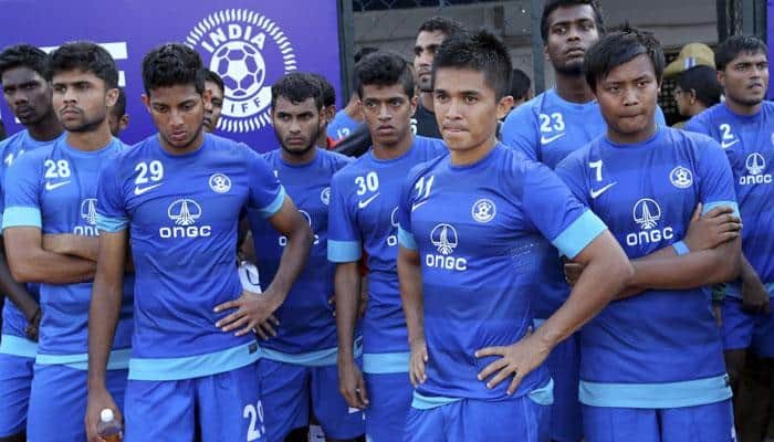 GPS trackers used in Indian football team's training