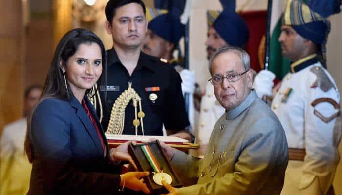 Sania Mirza receives Khel Ratna; Arjuna, Dronacharya, Dhyand Chand awards also handed