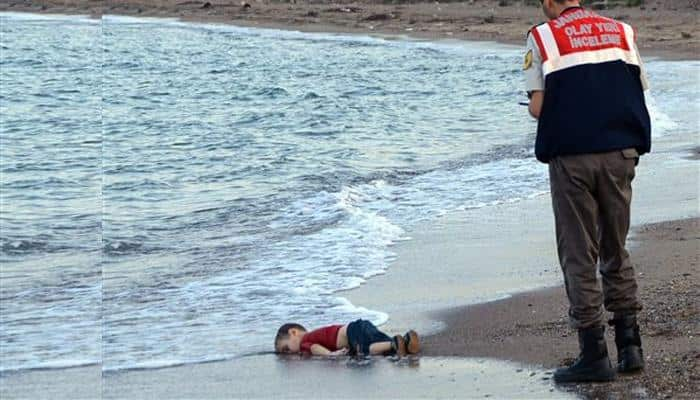 Syrian boy, 3, lying dead on Turkish beach: A picture worth a trillion tears!