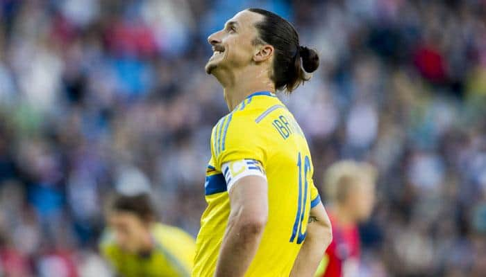 Injured Zlatan Ibrahimovic may miss Sweden qualifier on Tuesday