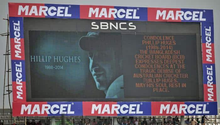 Cricket fan built miniature stadium in memory of cricketer Phillip Hughes