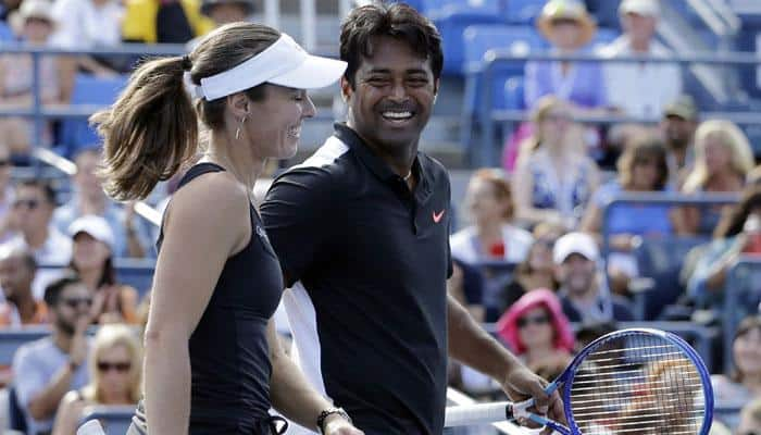Paes-Hingis first to win 3 Grand Slam mixed titles in year since 1969