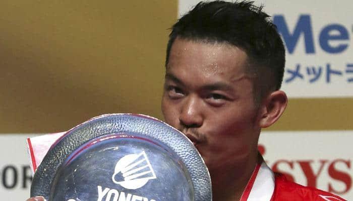 Lin Dan wins Japan Open men`s singles crown