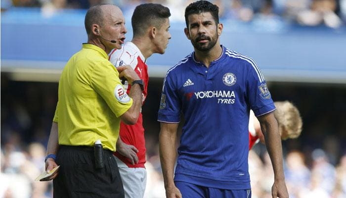 Chelsea sink nine-man Arsenal, West Ham stun leaders Manchester City