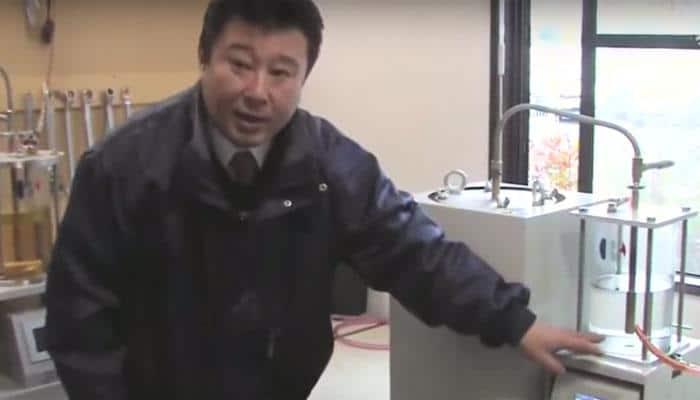 Watch: Japanese man shows how to convert plastic waste to oil