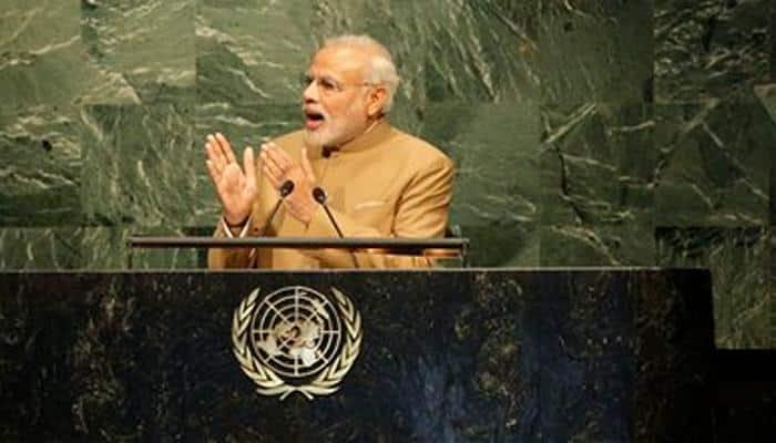 Sikhs, Patels protest against PM Narendra Modi at UN headquarters