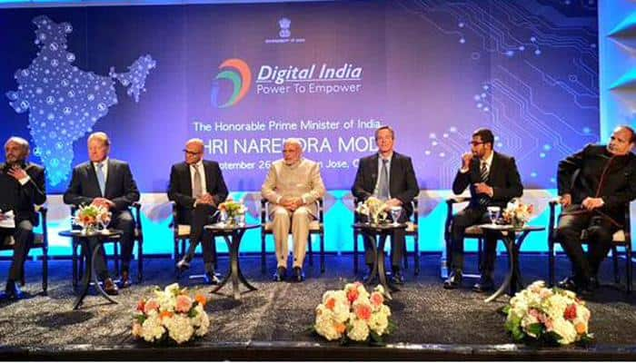 Modi in Silicon Valley: PM bats for India's digital transformation, promises transparent governance