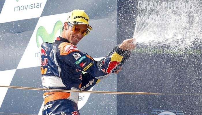 Miguel Oliveira wins dramatic Moto3 Aragon GP
