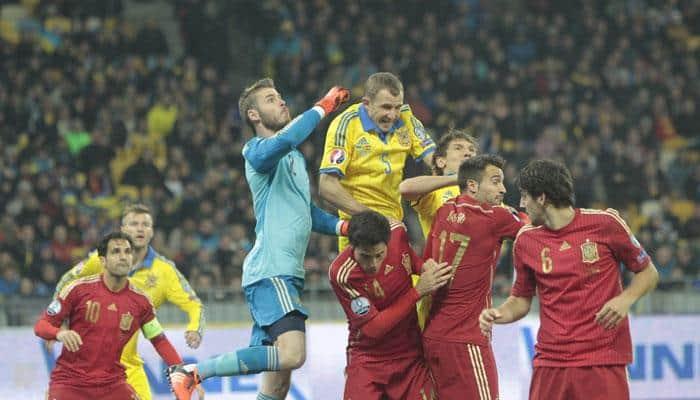 2016 Euro qualifiers: David de Gea praised for Spain's win against Ukraine