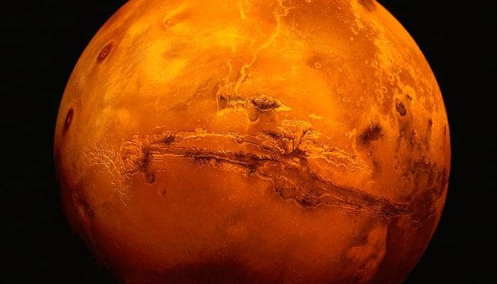 Mars pebbles travelled 50 km down a riverbed: Study