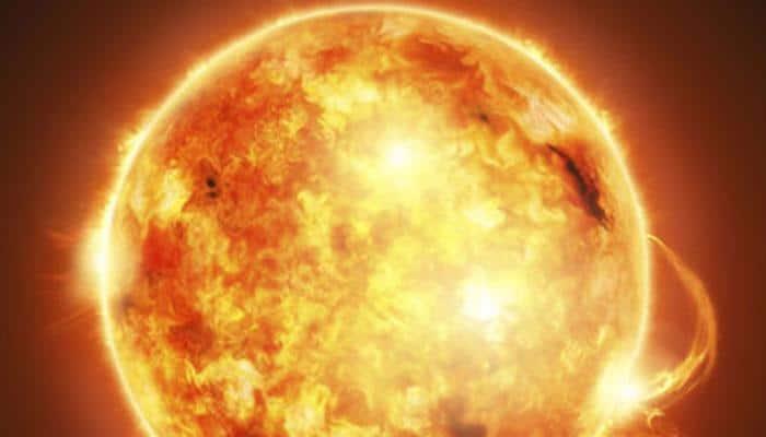 NASA spacecraft spots giant 'hole' in Sun