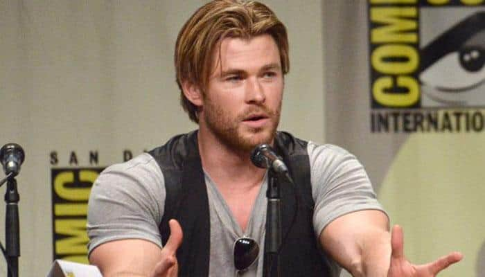 Chris Hemsworth makes own superhero video