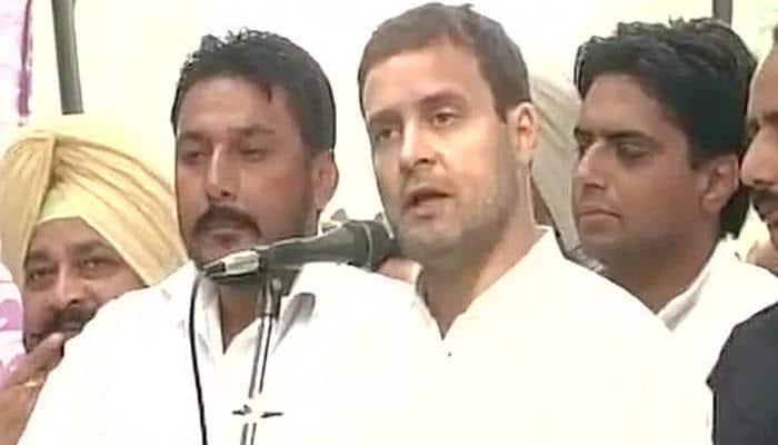 Rahul Gandhi meets families of youth killed in police firing in Faridkot