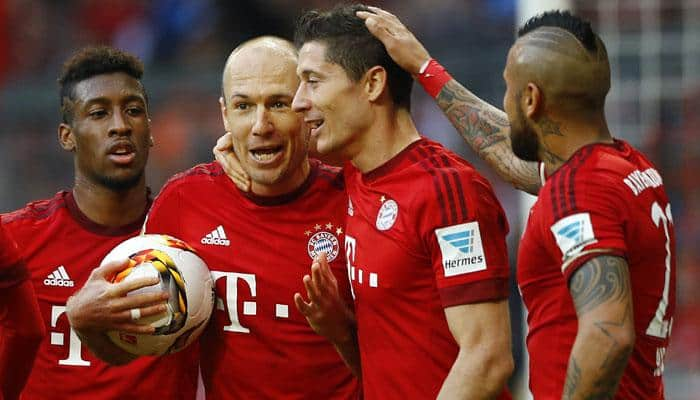 Relentless Bayern Munich march on, Wolfsburg drop points