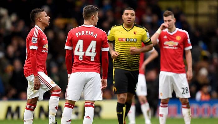 EPL 2015-16: Manchester United beat Watford as Troy Deeney's joy turns to despair