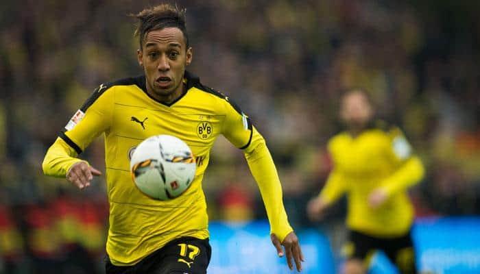 Pierre-Emerick Aubameyang nets twice as Borussia Dortmund see off Stuttgart