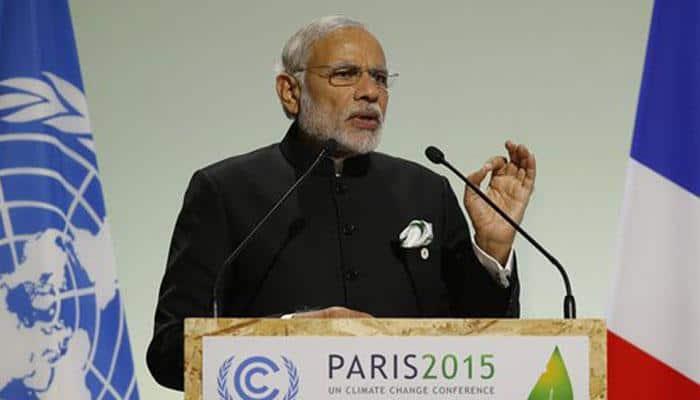 Paris Climate Summit: PM Modi asks rich nations to shoulder responsibilities, launches 120-member solar alliance