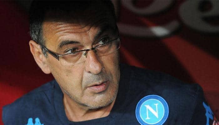 Former banker Maurizio Sarri takes Napoli to Serie A top
