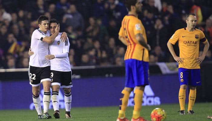 Valencia fan dies during tie against Barcelona